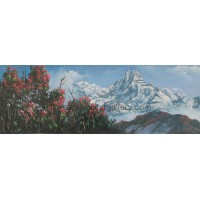Mount Fishtail-Annapurna Range