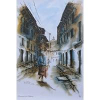 Street Scene from Bhaktapur